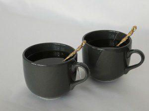 2 cups of tea